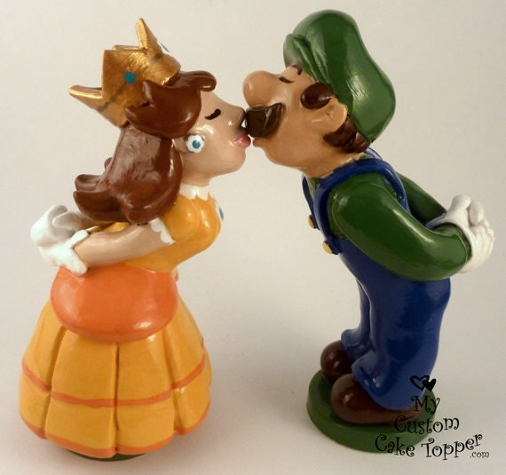 Custom Wedding Cake Topper Bride and Groom, Prince and Princess