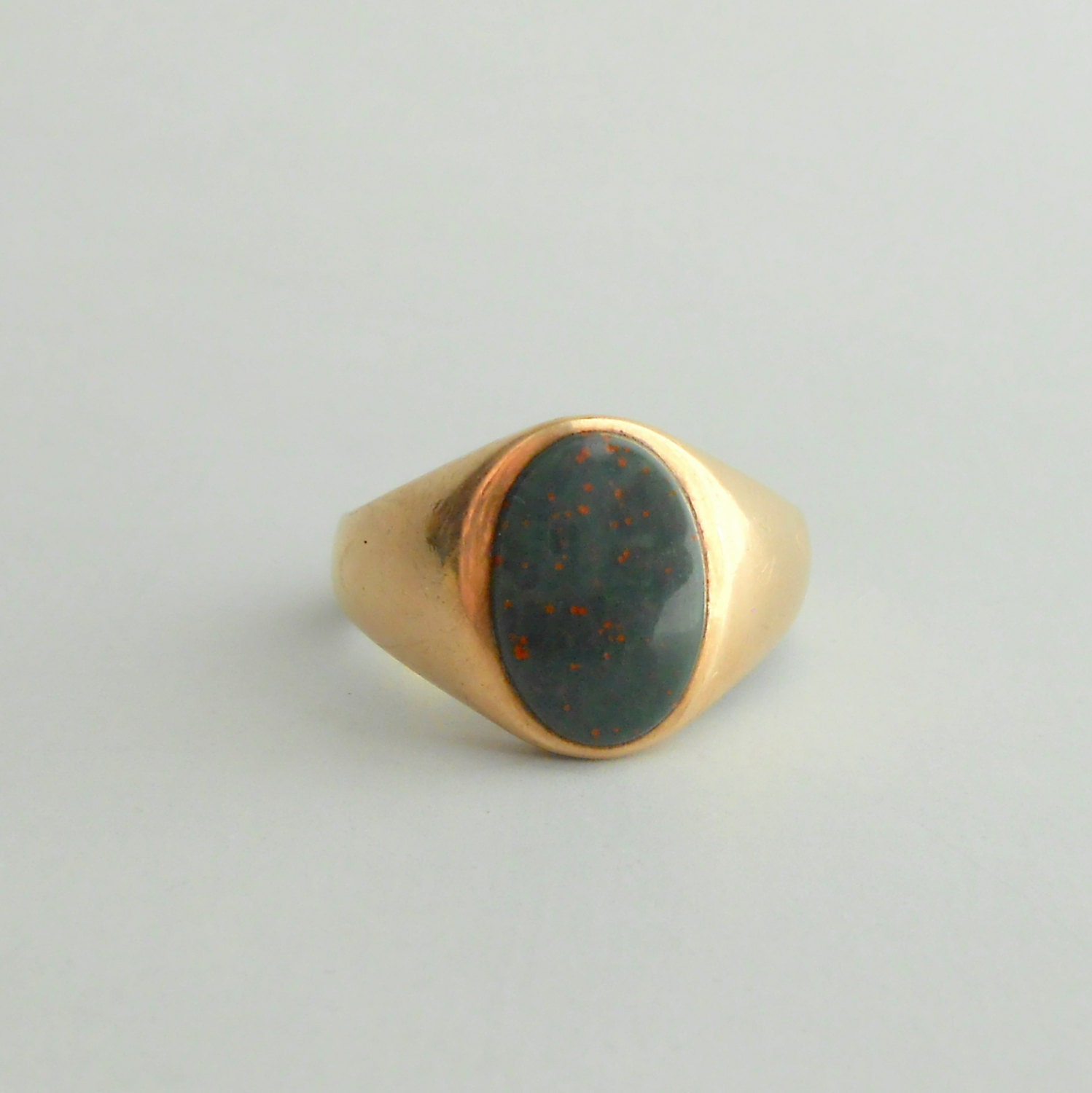 Bloodstone Signet Ring Cost