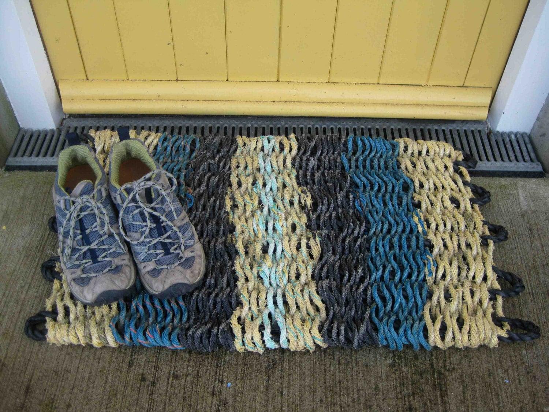 Floor Mat - Reclaimed Fishing Rope