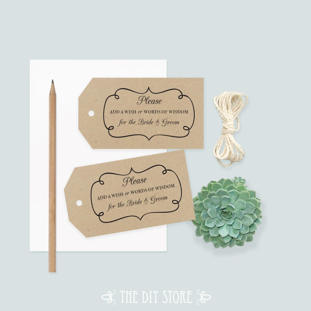 Wedding Gift Tag Maker : ... Tag, Swirly Frame, Gift Tag, Well Wishing Tag, Thank You Tag, Wedding