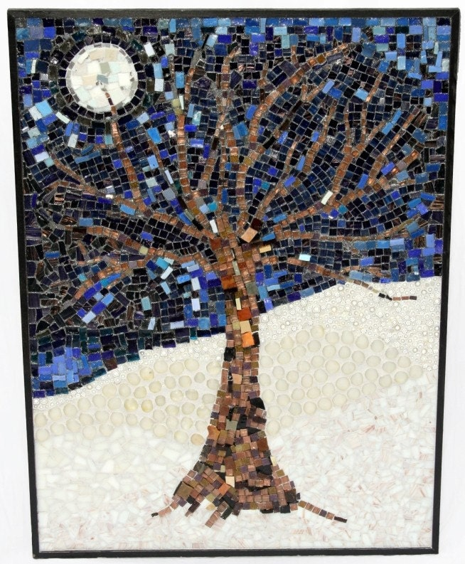 Winter Night's Tree