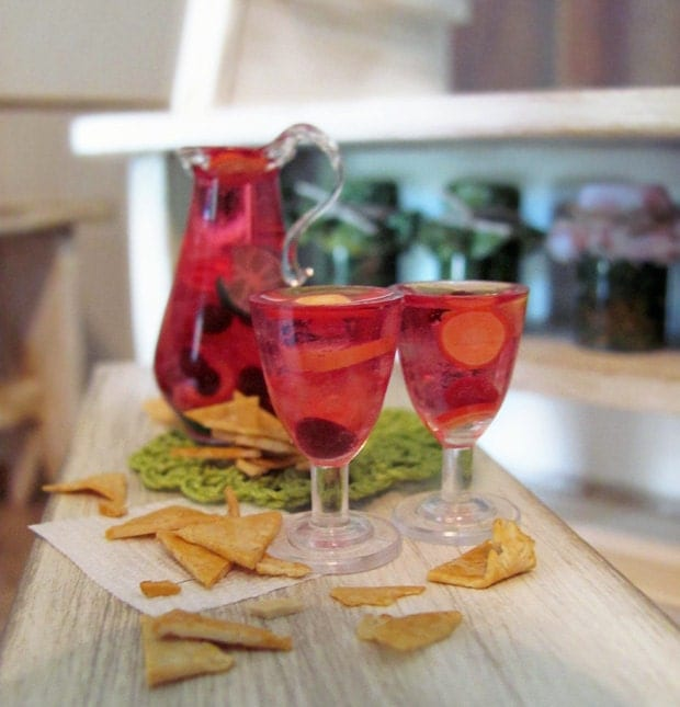 Popular items for blown glass pitcher on etsy - Plastic sangria glasses ...