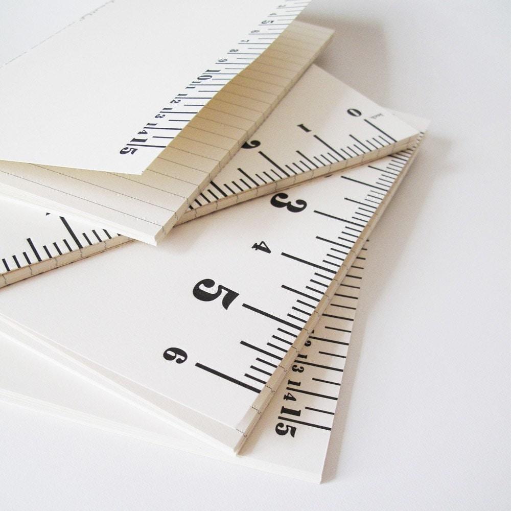 Ruler Notebook