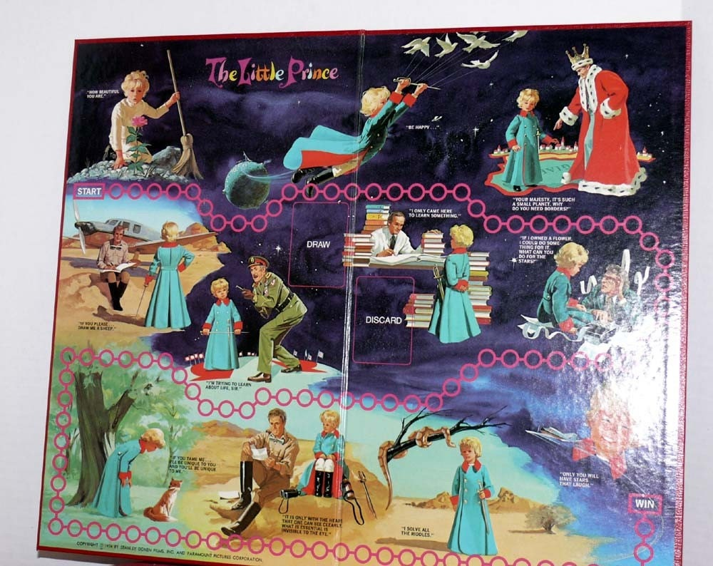 The Little Prince Board Game from 1974 Motion Picture - Antoine de Saint-Exupery
