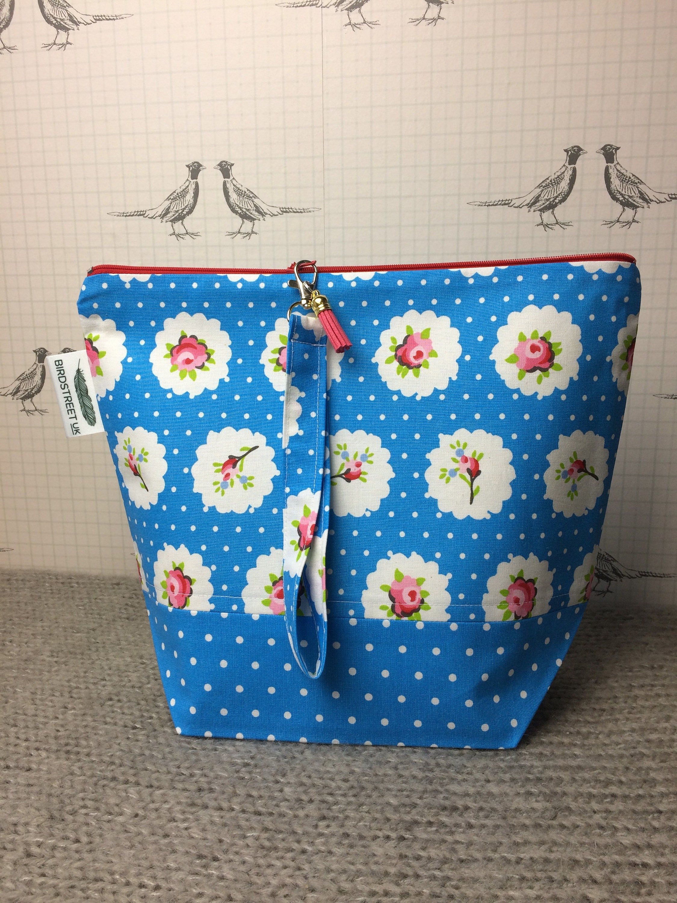 Cath Kidston Style printed Project Bag
