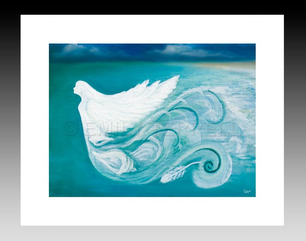 Sea Angel 8x10 Print - ArtistEmilyTerrell
