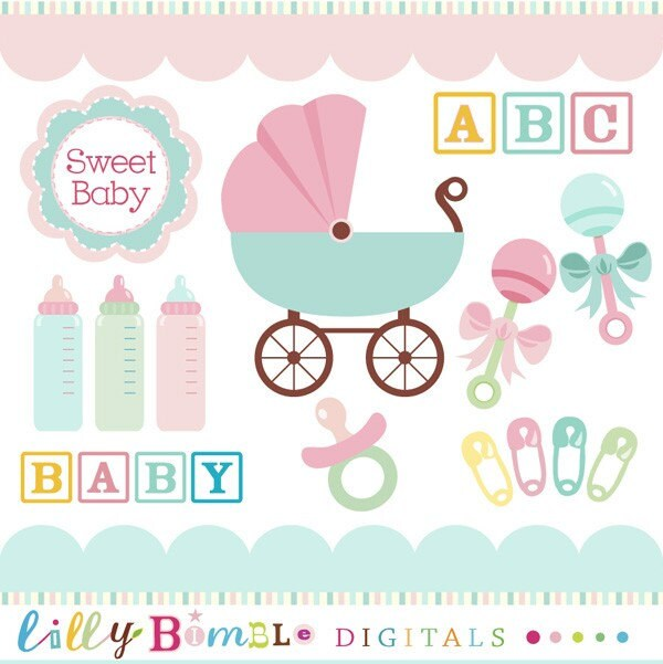 baby shower clipart - photo #19