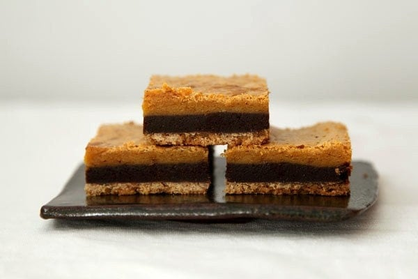 Layered Bar Cookies with Chocolate, Butterscotch, Graham Crackers