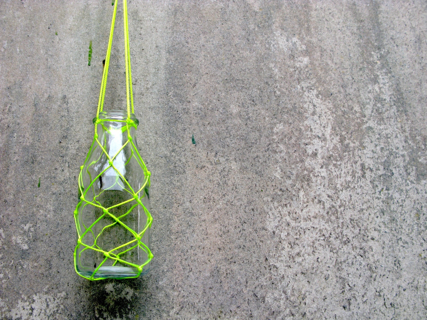 Sale small fishing net and macrame plant hanger with by chompa for Small fishing net