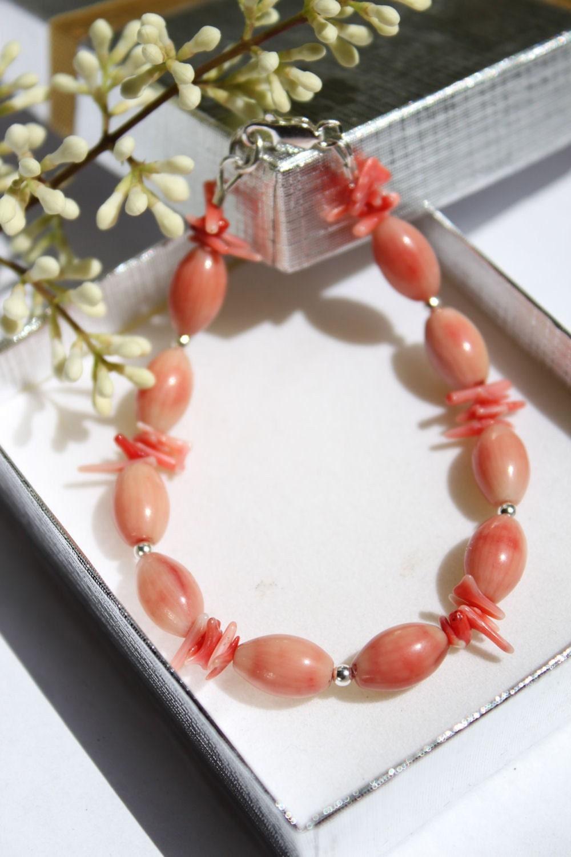 Pink Shell Bracelet