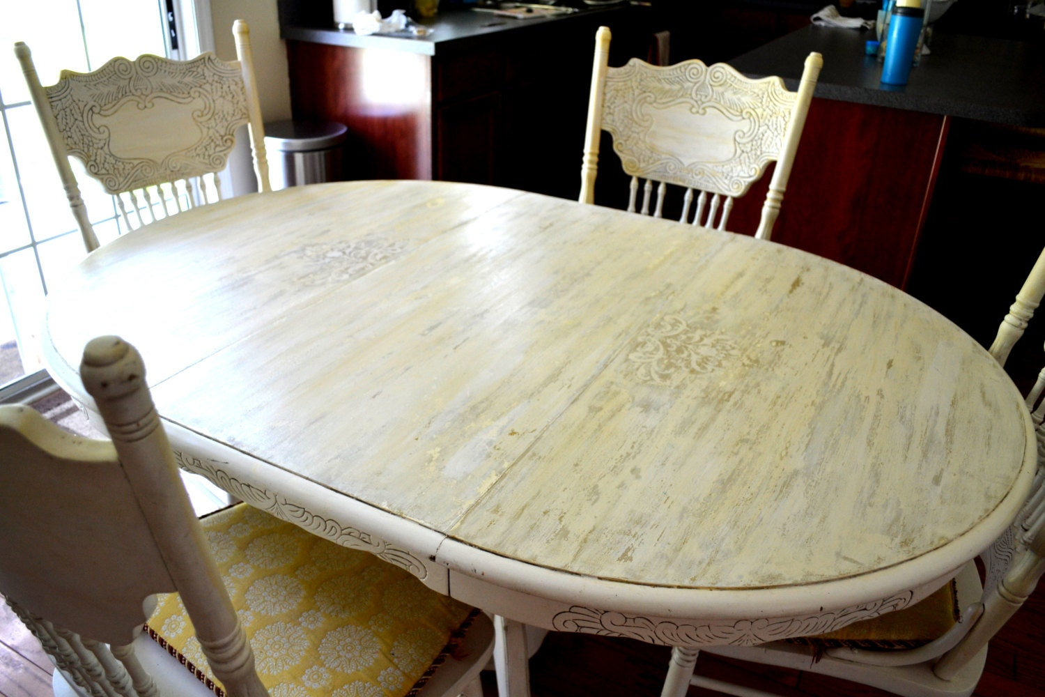 items similar to chalk paint country french dining room table and