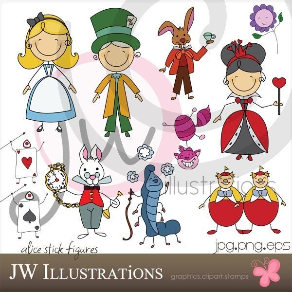 cute rabbit clipart. This cute graphic set comes
