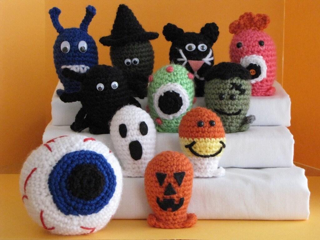 Amigurumi Halloween : Cuffe Shop: FREAKY-SPOOKY Toys for Halloween