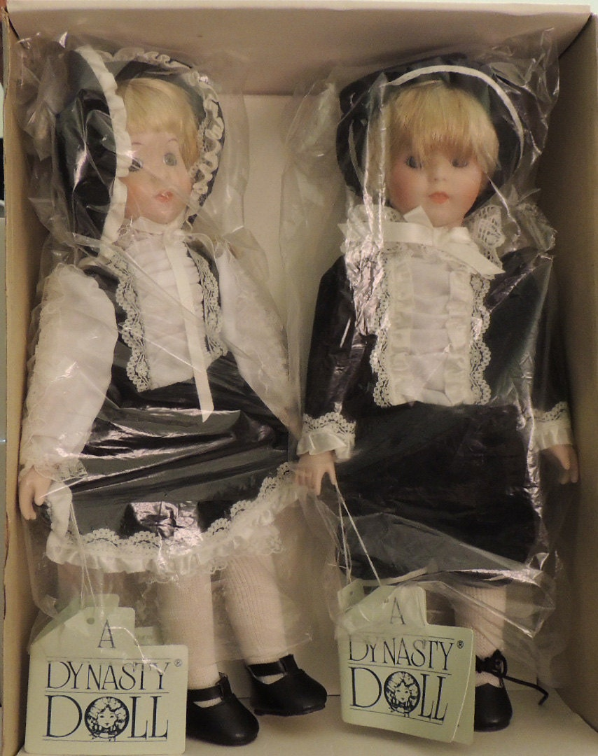 Dynasty Dolls Peggy & Allen Porcelain Set with Box - DLSpecialties