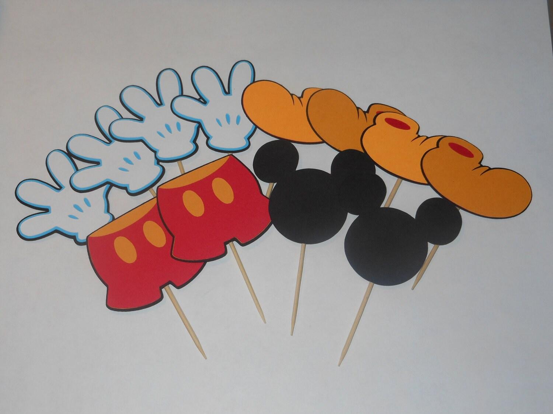 Como hacer guantes de Mickey Mouse con foami - Imagui