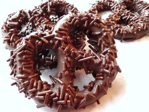 Giant Chocolate Pretzels for any ocation