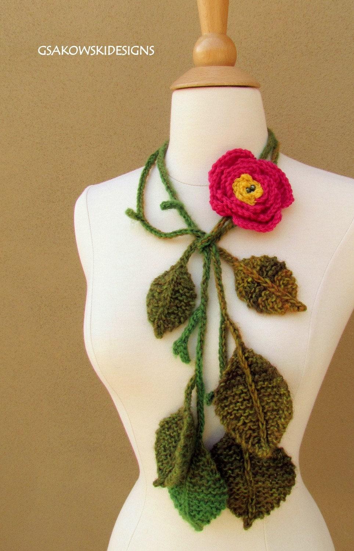 English Rose Lariat-Pink