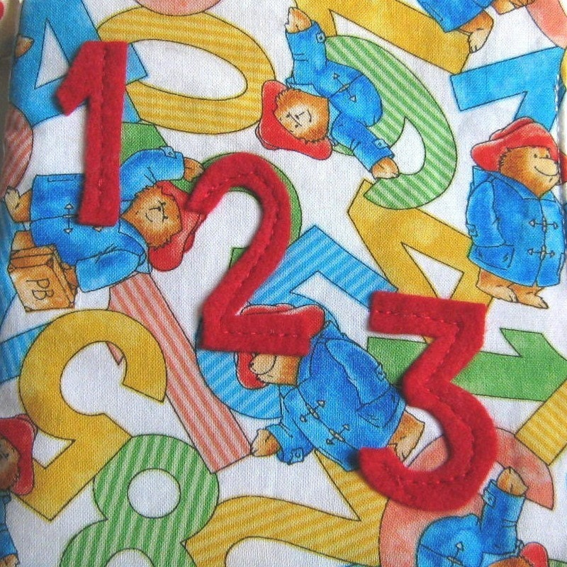 Counting Book 1-10 Soft Fabric - Educational