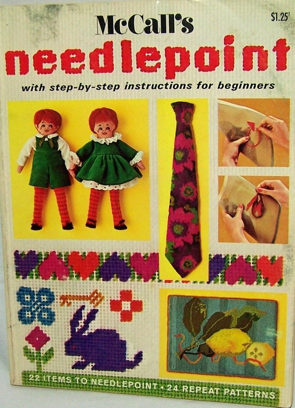 needlepoint instructions for beginners
