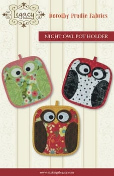 Fall owl potholders fun fast and easy by dorothyprudiefabrics for Free craft show listings