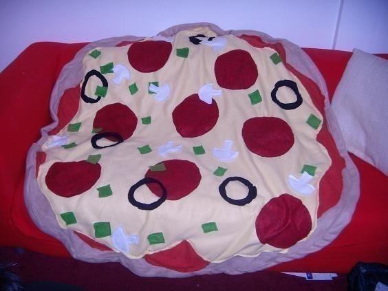 Supreme Pizza Huge Throw Blanket PLAY FOOD