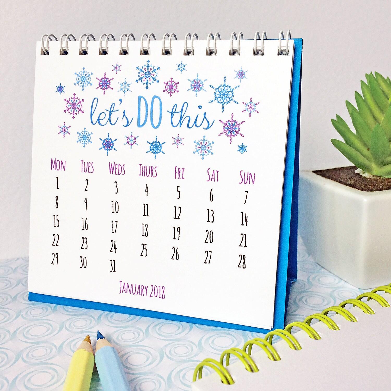 Mini calendar   Etsy