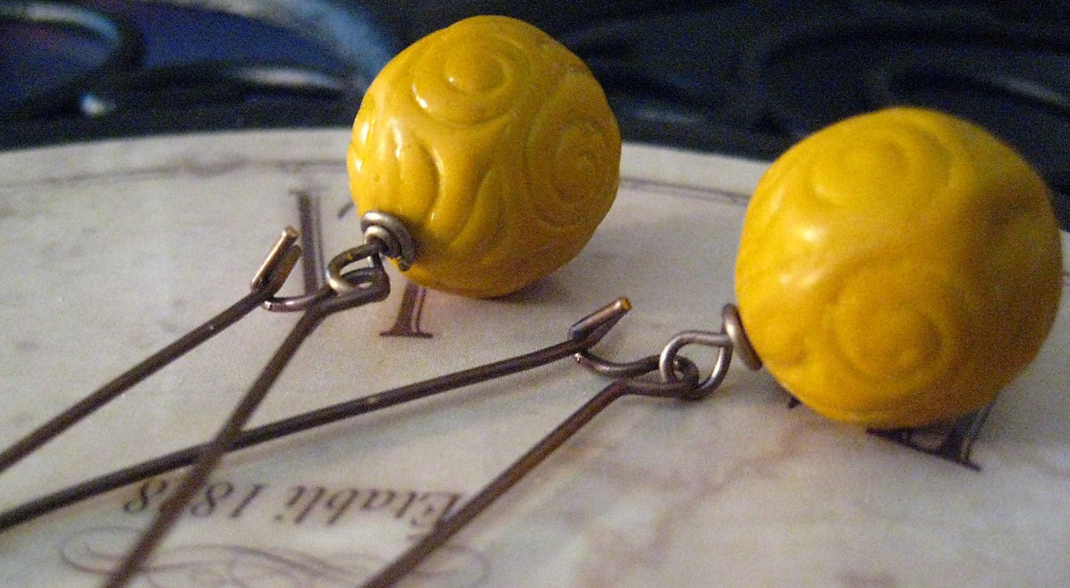The Mustard Seed Funky Vintage Inspired Earrings