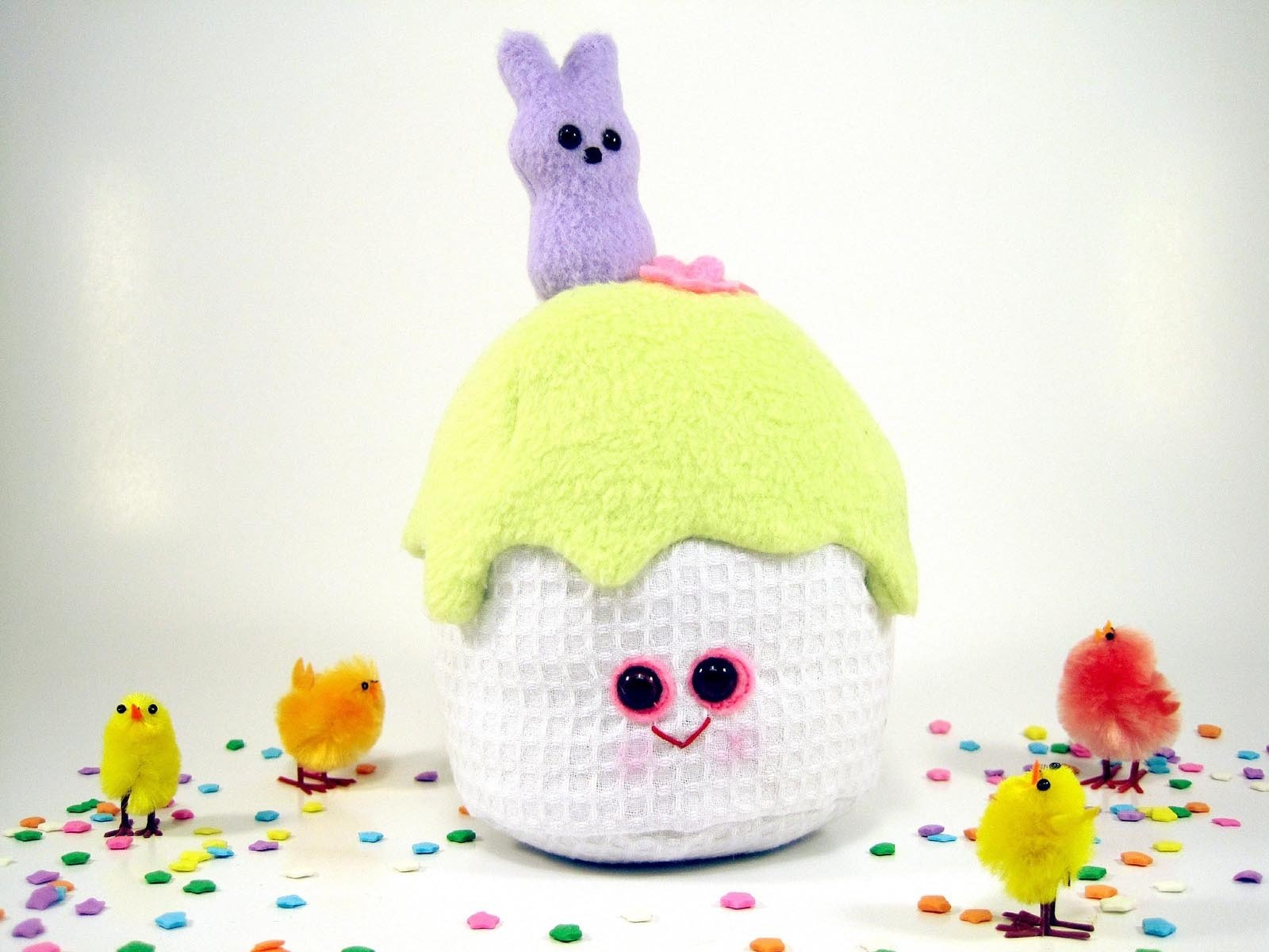 Plush Easter Cupcake...sweet treat of a toy.
