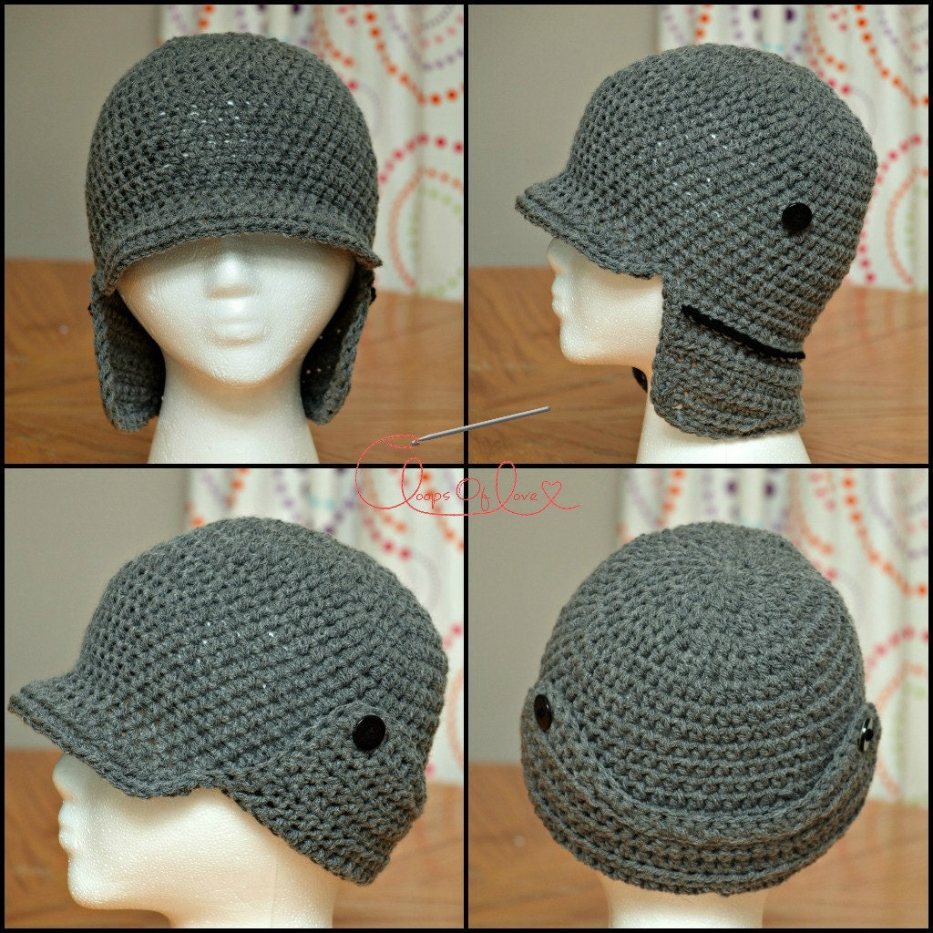 Free Crochet Pattern Hunting Hat : newmfx Images - Frompo - 1