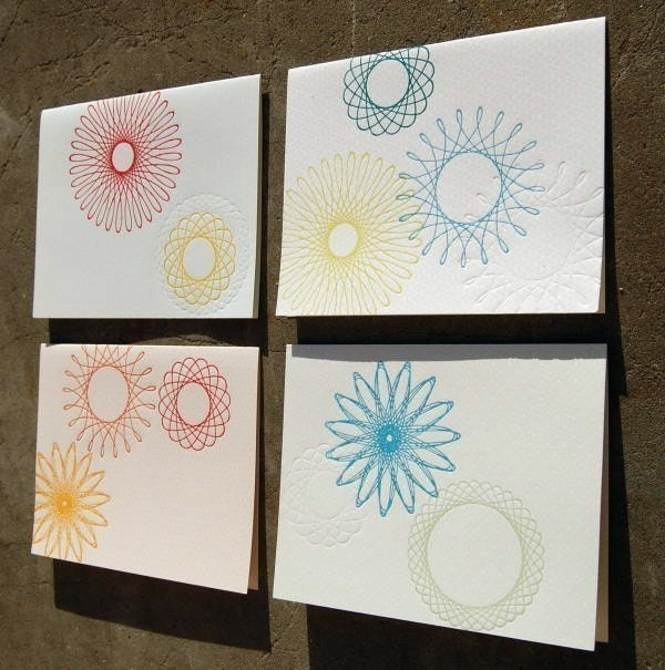 mod spirograph cards