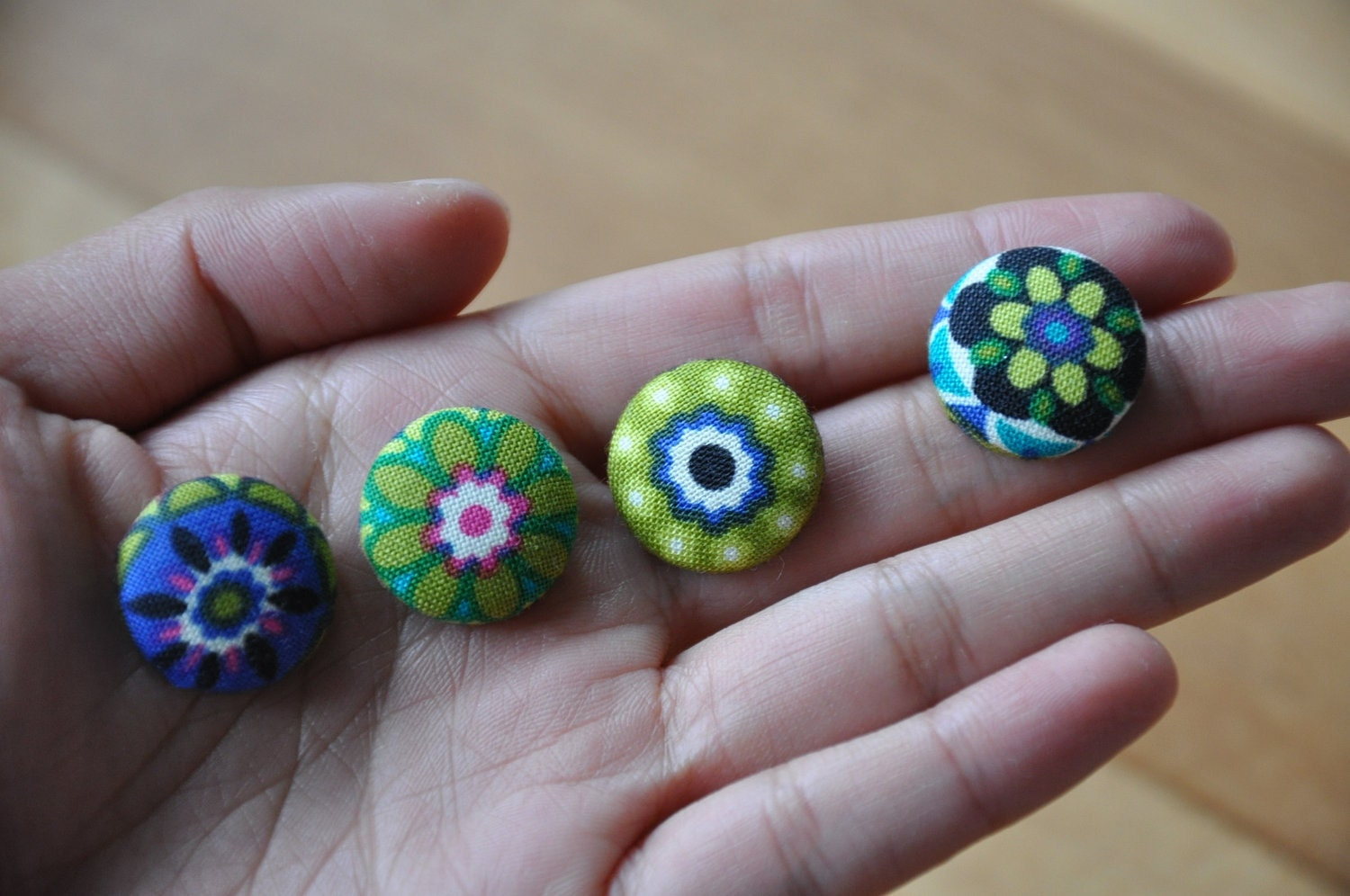 fabric covered button magnets- buy 3 get 1 item free