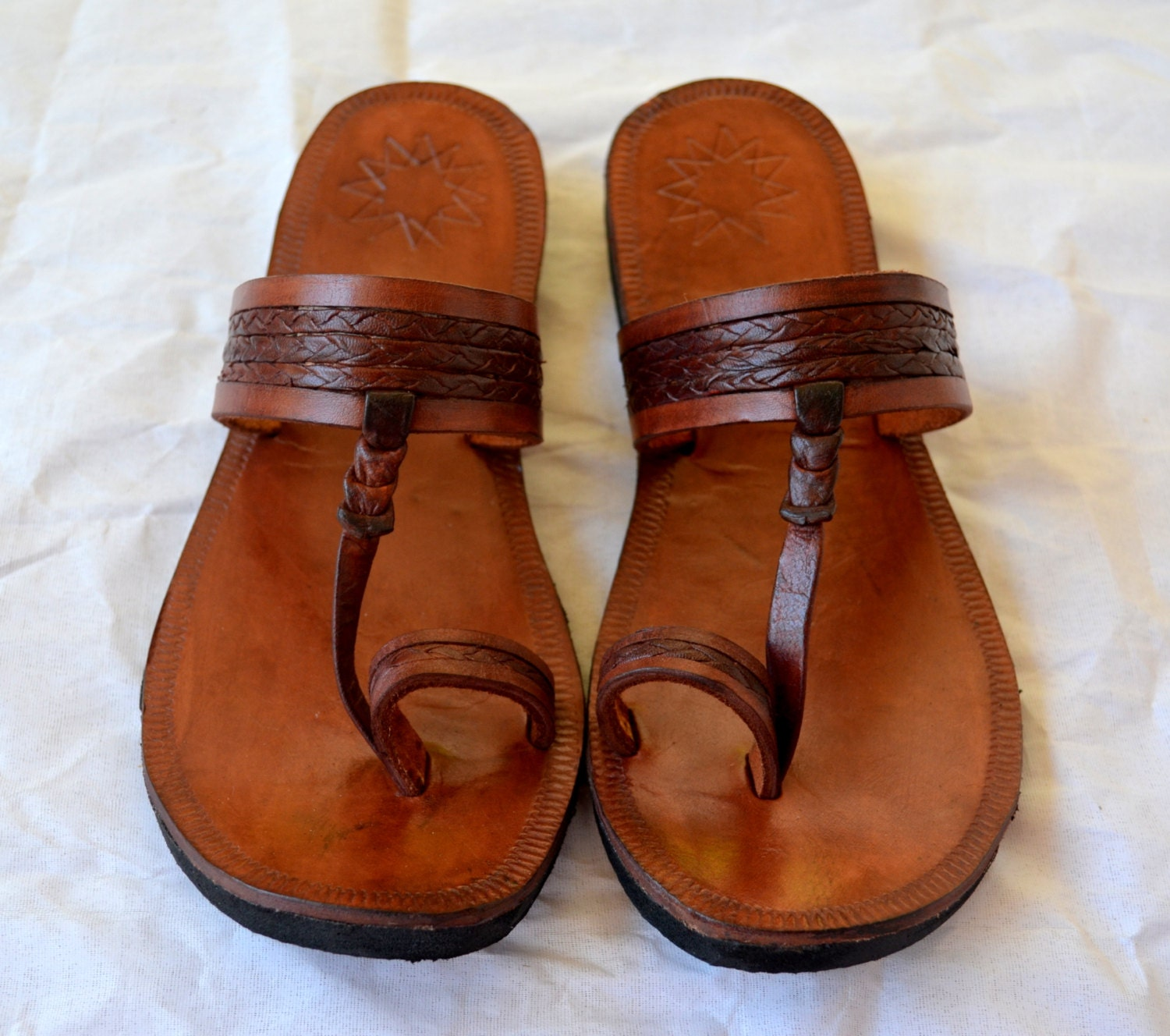 Popular MIDSUMMER Brown Leather Sandals  Women Shoes  Leather Shoes