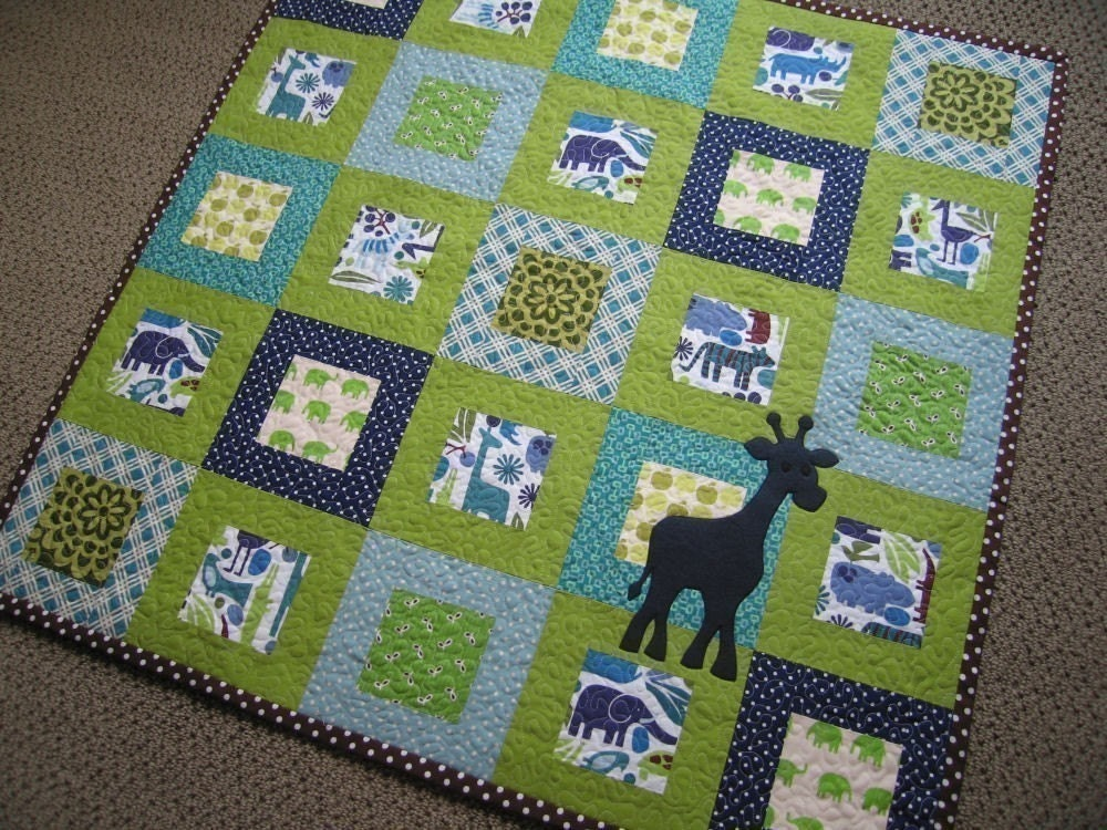 Baby Quilt Patterns For Boy : The Red Kiwi