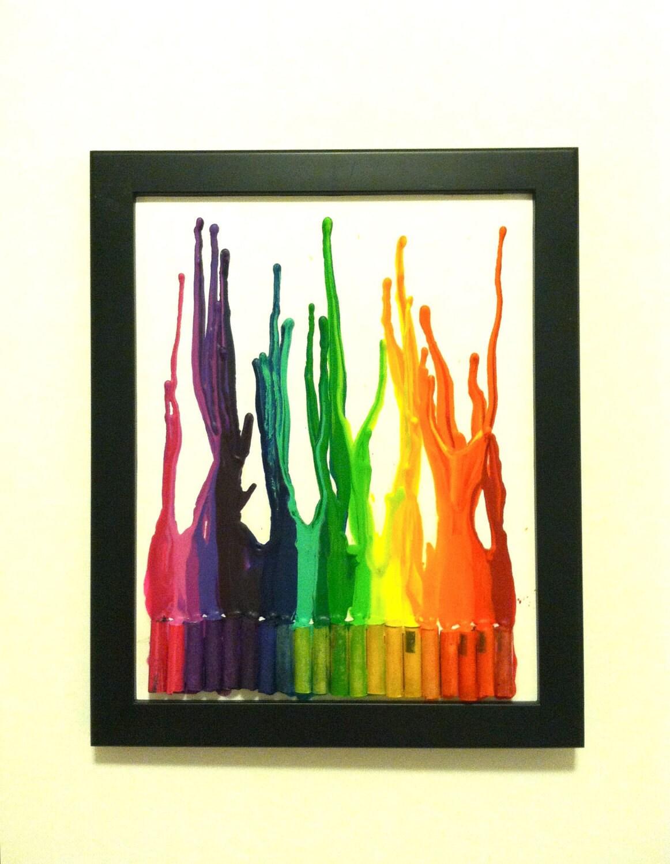 Rainbow Burst, 8x10