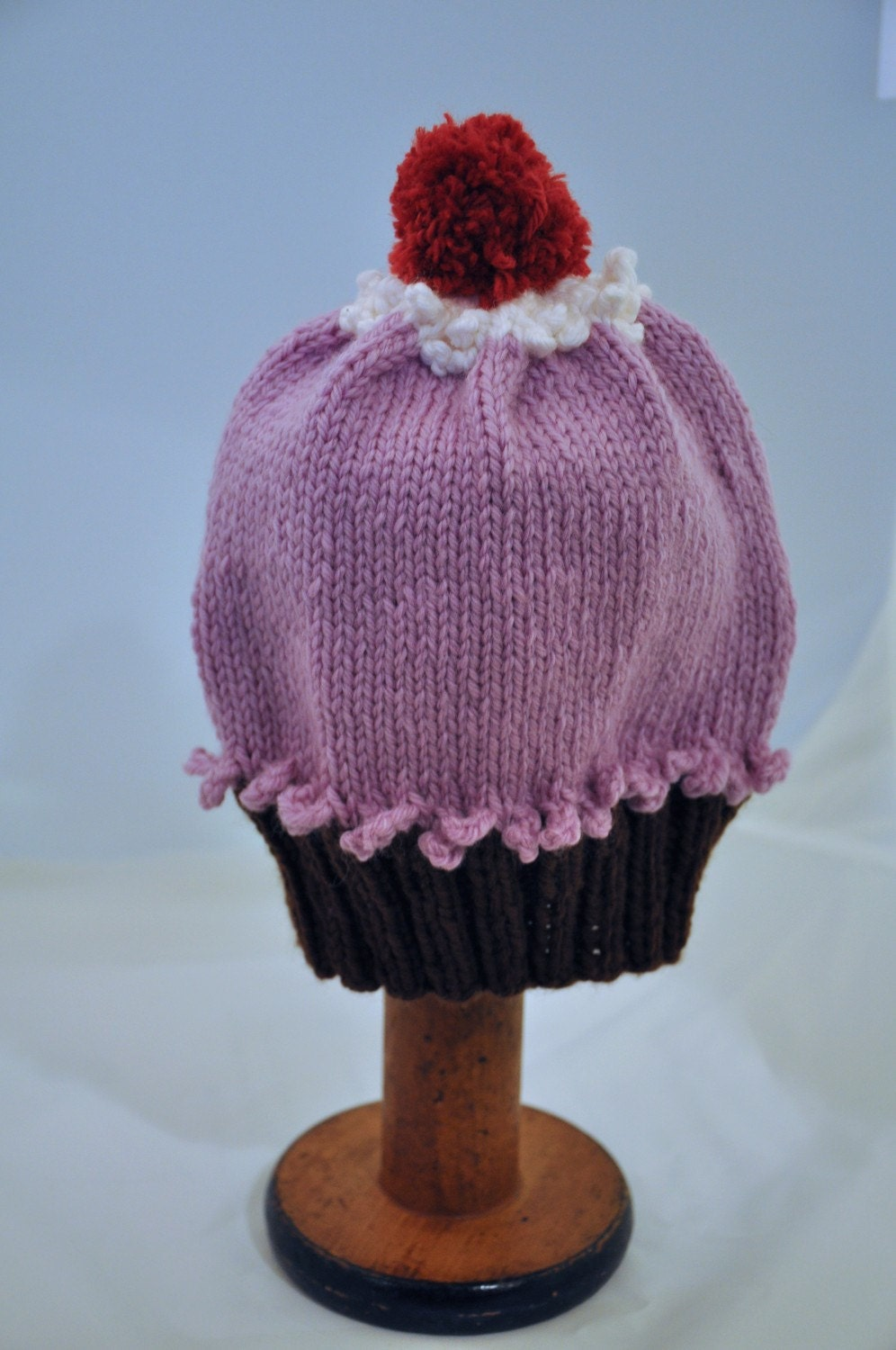 Cupcake Hat - Toddler Size, Light Purple