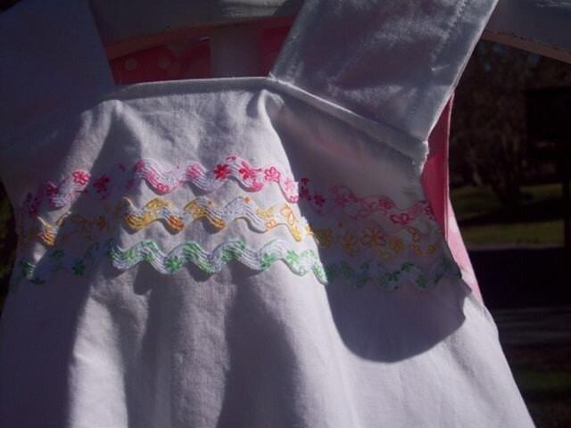 Reversible Apron Dress size 3 4