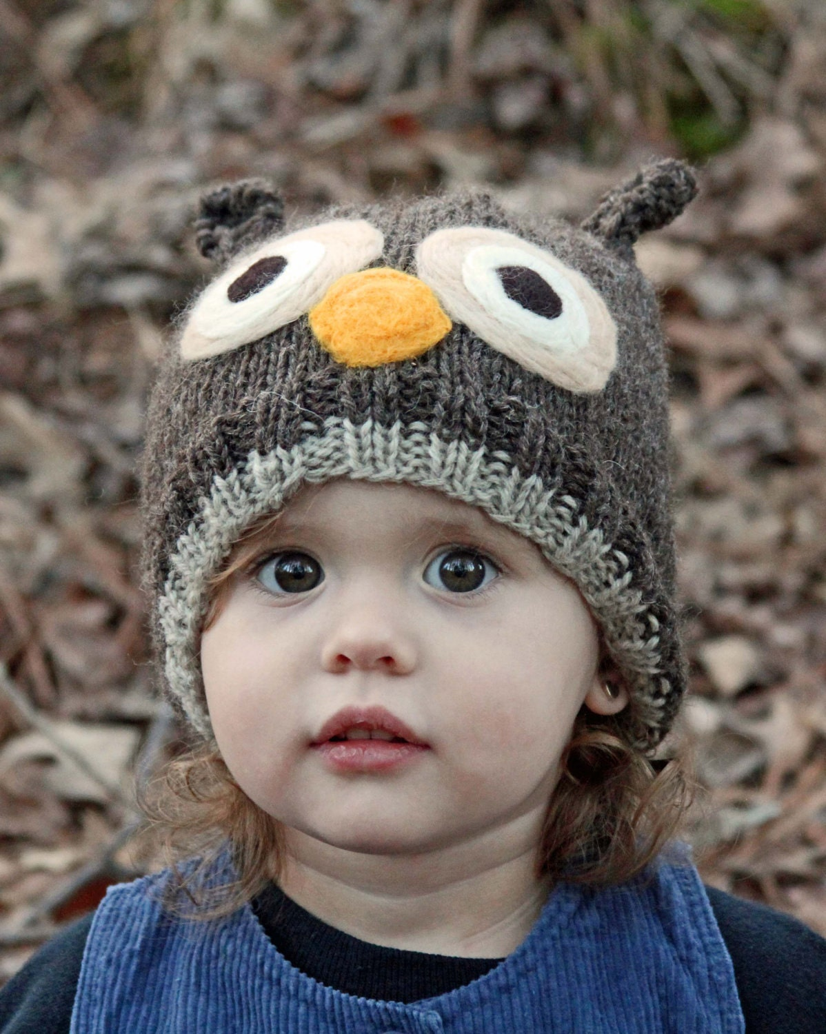 Items similar to Custom Knit Owl Hat - Available in 8 sizes - Preemie through...