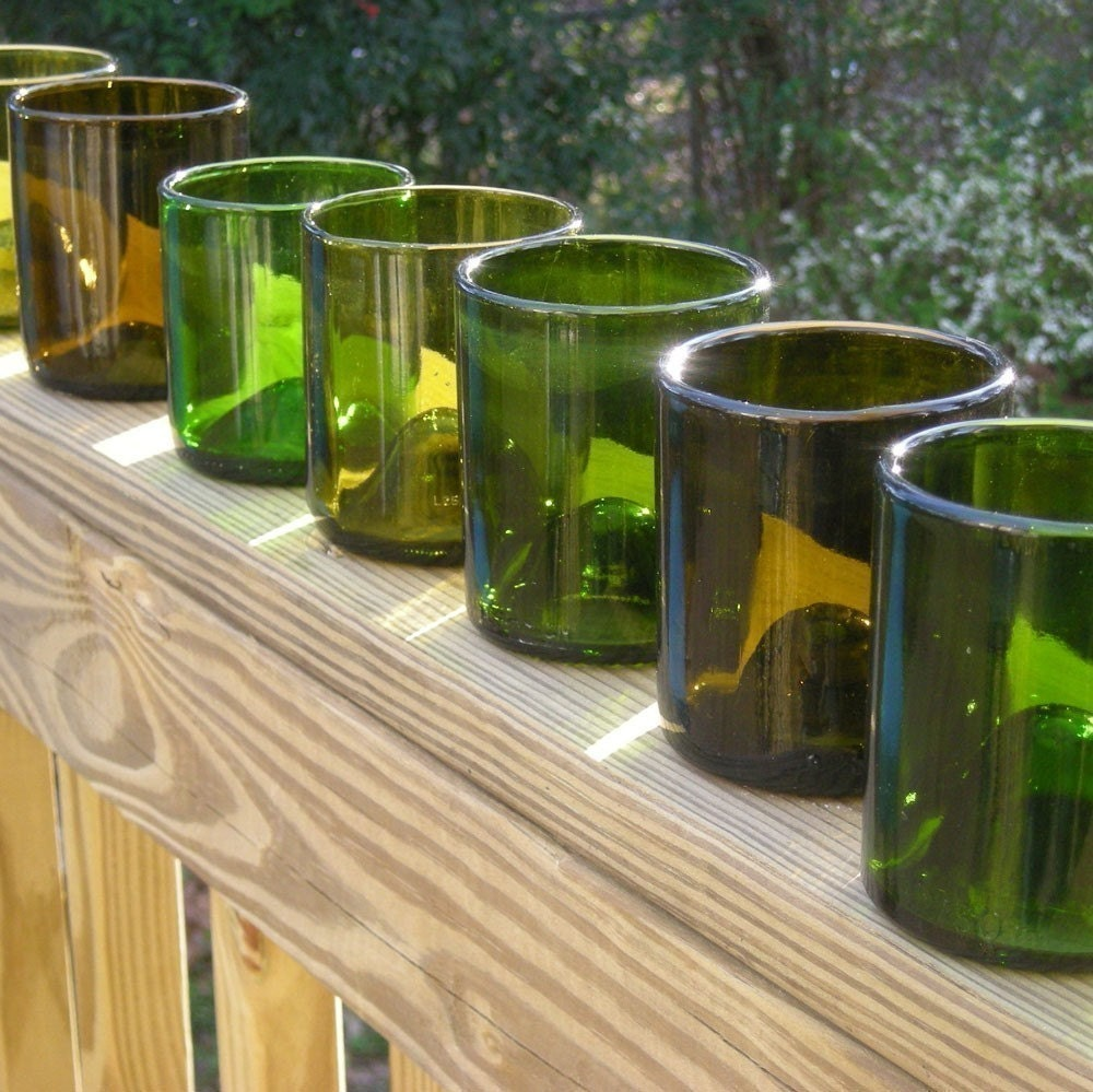 Winery afternoon for Wine bottle glasses diy