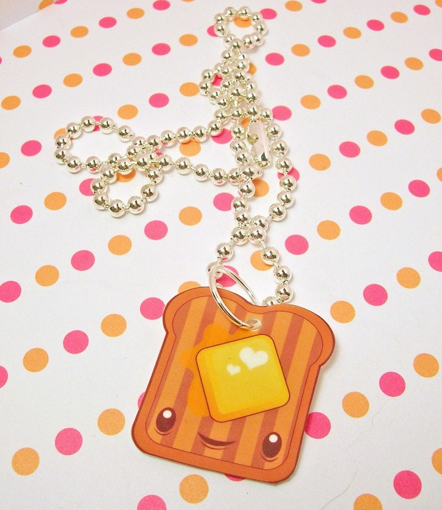 Toast Necklace 16 inches