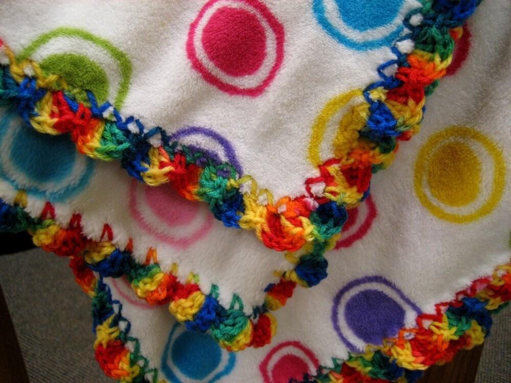 Free Crochet Pattern 70263A Crochet Shell Stitch Baby Blanket