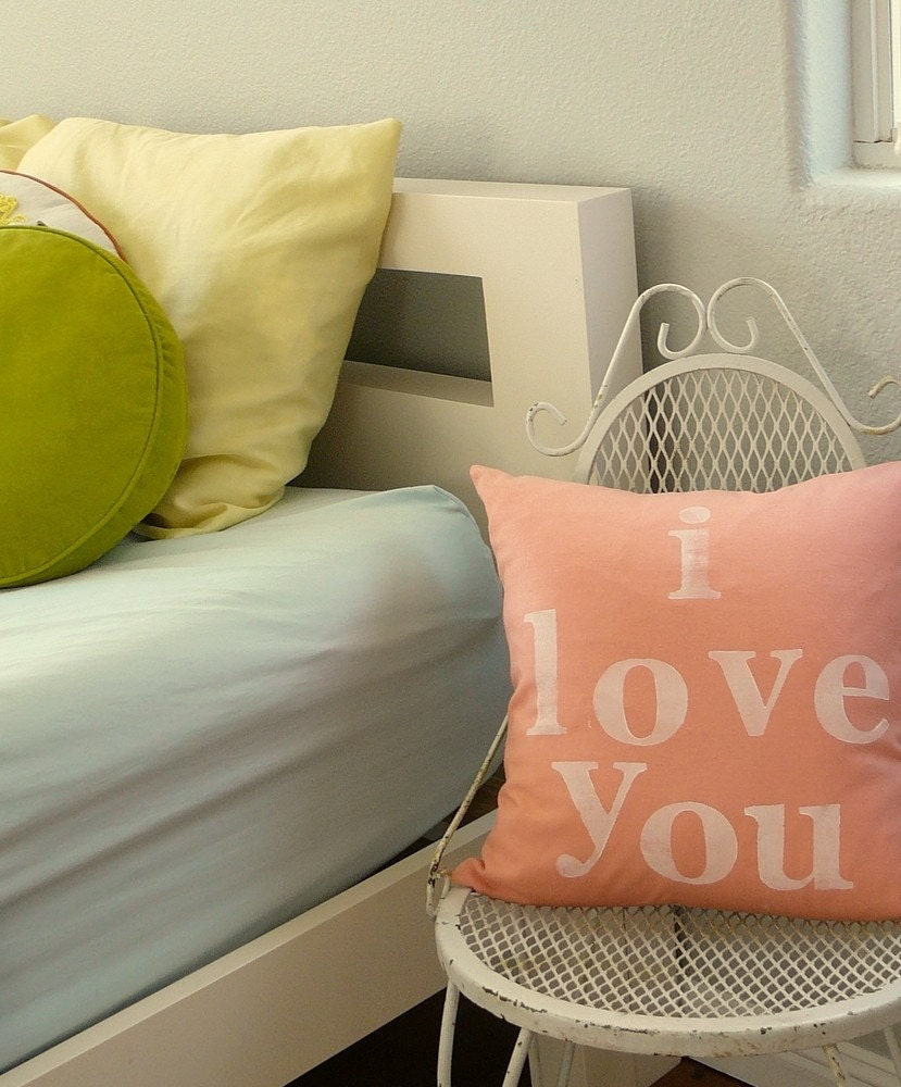 I Love You - Pillow Cover