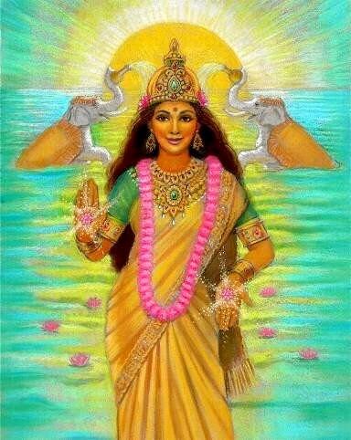 Lakshmi aussehen
