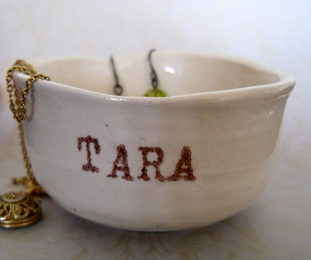 One Miniature Cup - Customize It With Your Name Or A Phrase - Size B