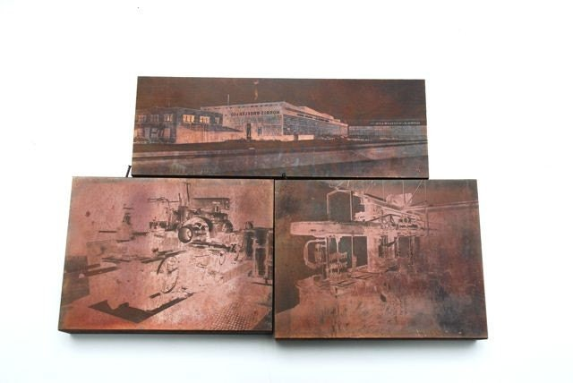 Print Plates of Industrial Images No. 2