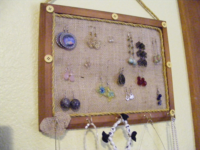 Country Chic Jewelry Organizer