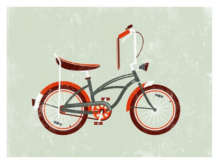 Property Of Kelly: 68 Stingray Bicycle Print On Etsy