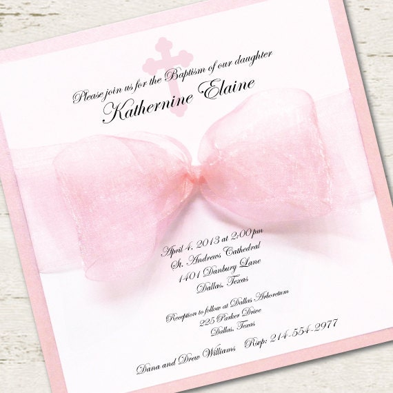 Baptism Invitations For Girl and get inspiration to create nice invitation ideas