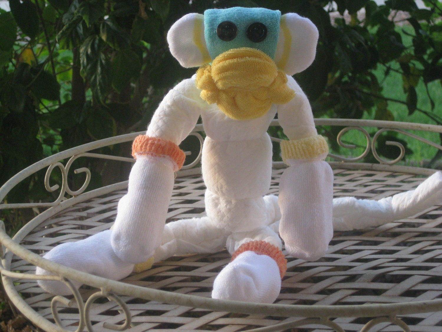 Diaper Monkey Baby Gift or Shower Centerpiece