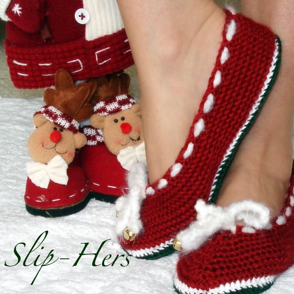 Crochet Pattern Ballet Slippers Adults Kids 2 Patterns By Genevive