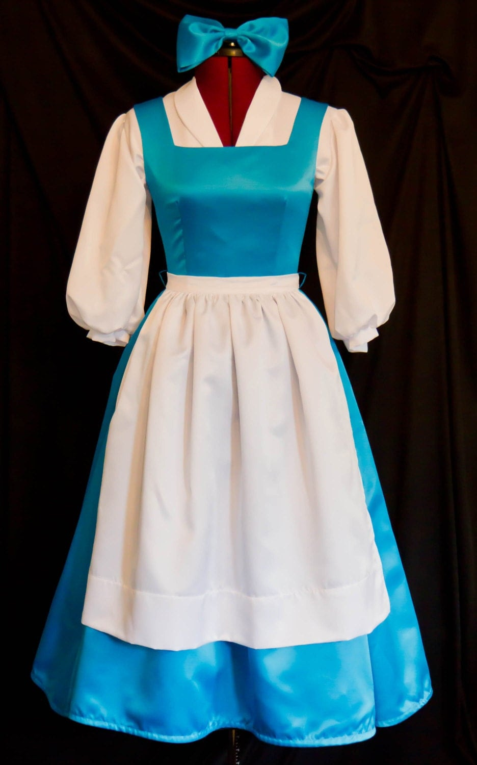Deluxe Adult Blue Belle Blue Provincial Costume Custom By